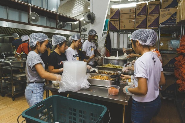 Willing Heart's soup kitchen