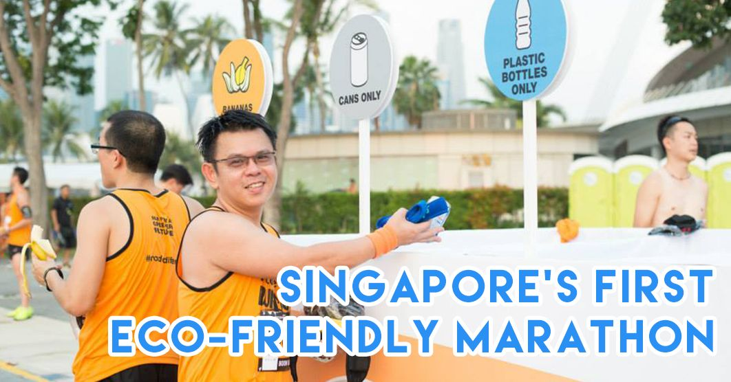 This Eco-Run Happening In Singapore Has A Zero Waste Runner Category and Race Village