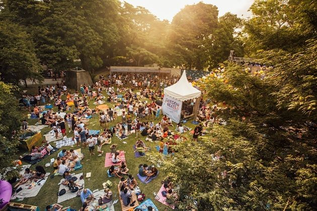 Garden Beats Festival at Fort Canning