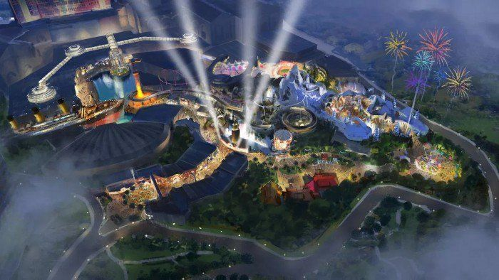 new amusement parks asia