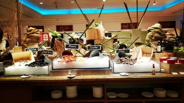 Orchard Cafe buffet at Orchard Hotel