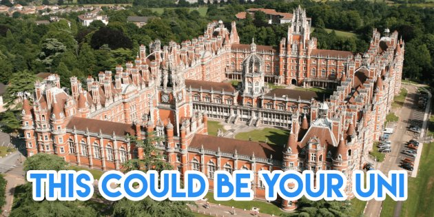 UK University Cheat Sheet, Royal Holloway