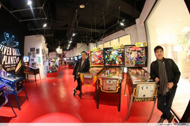 Silver Ball Planet, Osaka - Asia's Largest Collection Of Vintage Pinball Machines