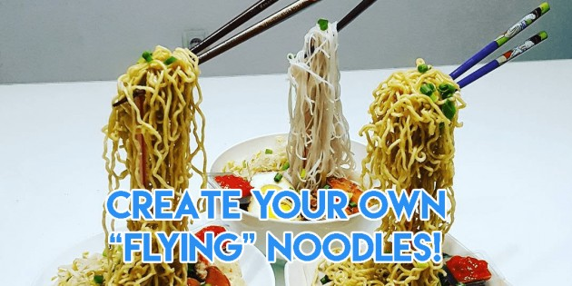 Flying Noodles Cover Image