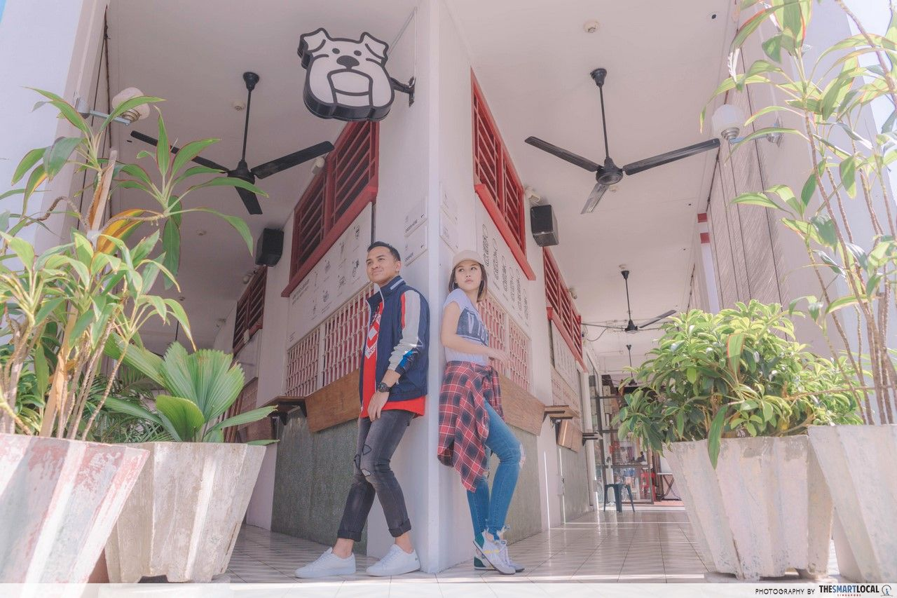 TSL X AEO full body shot of Potato Head Building Interior.