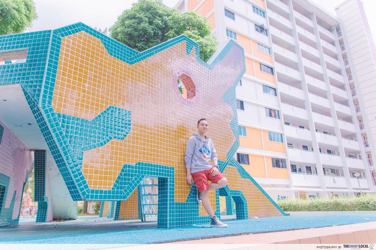 TSL X AEO AMK Dragon Playground Front Shot