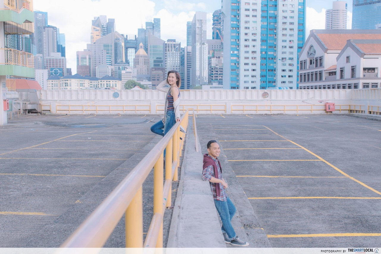 Soaking in the retro vibes clad in American Eagle Outfitters' new collection!