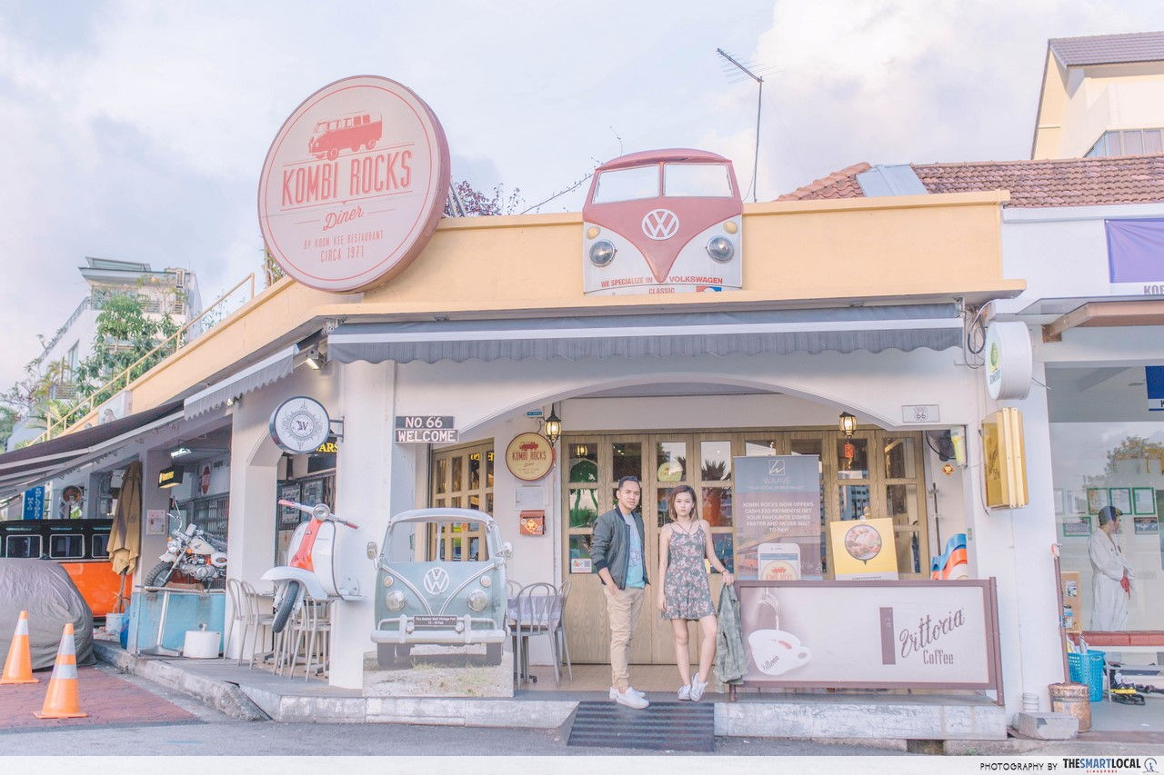 TSL X AEO at Kombi Rocks Diner.