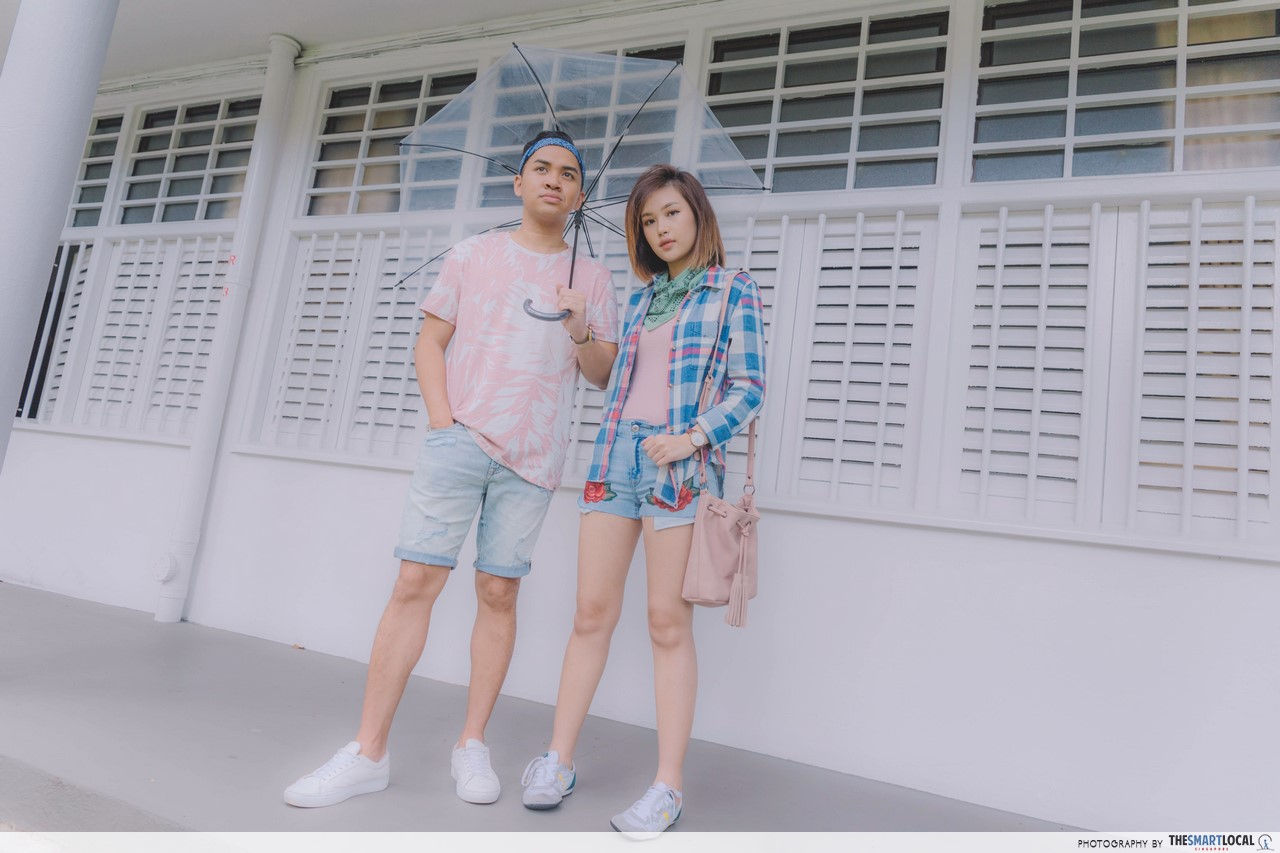 Pastels in AEO's Retro Collection.