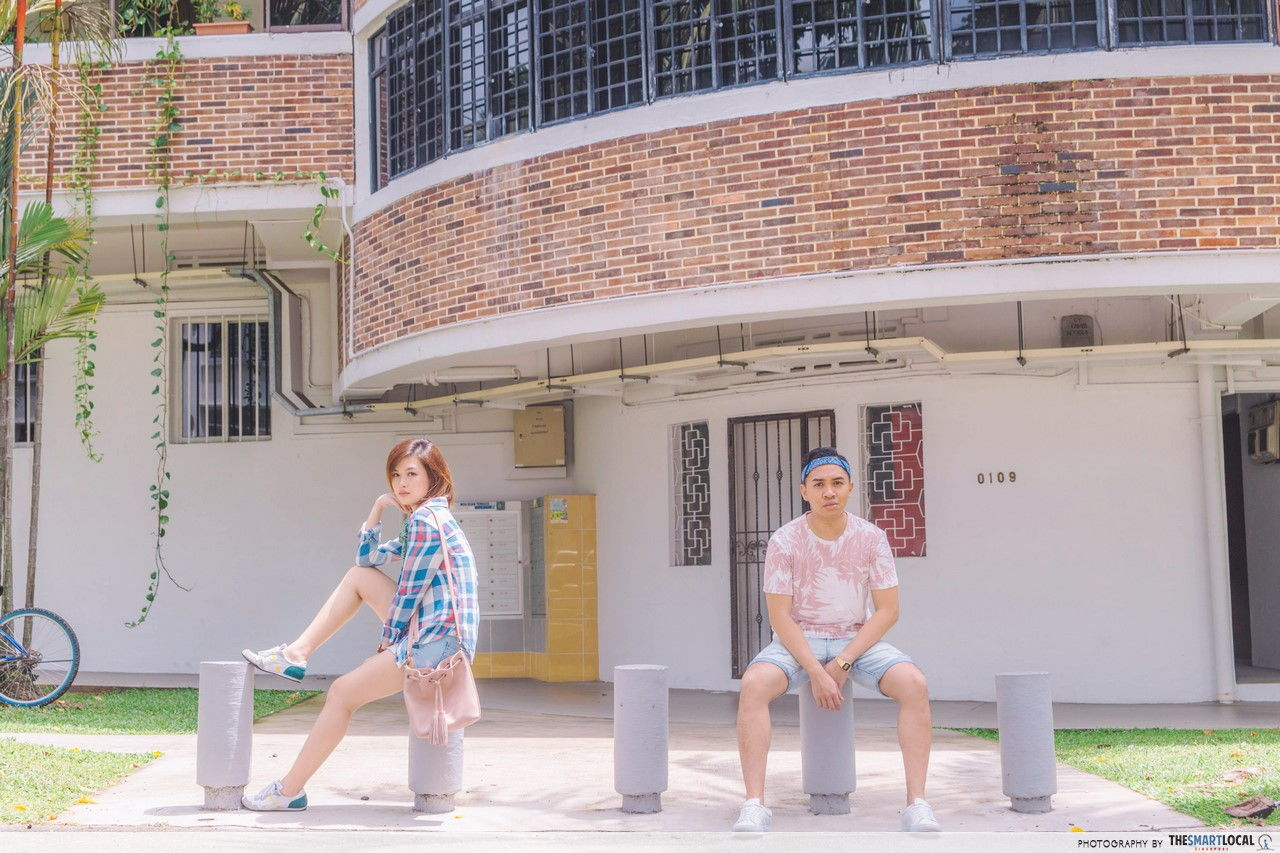 TSL X AEO at Tiong Bahru Estate.