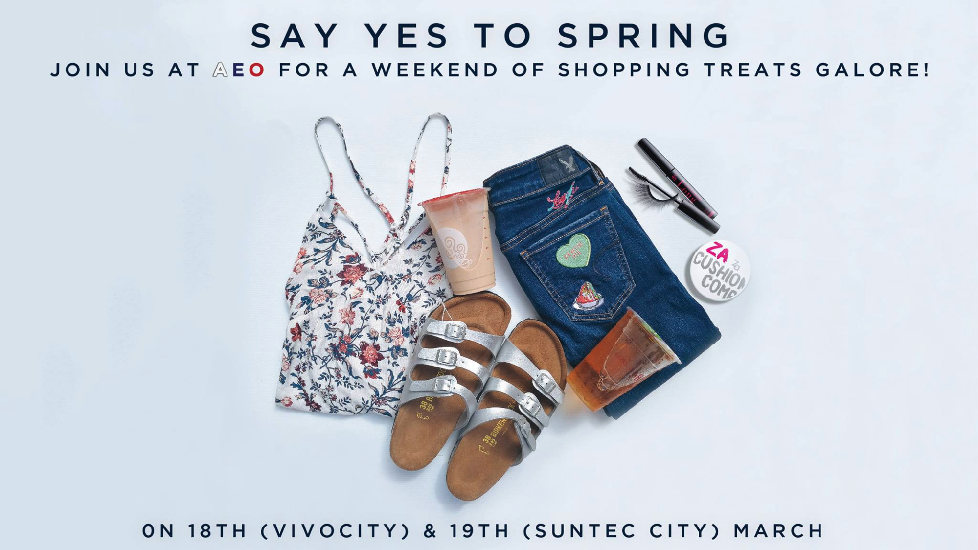 American Eagle Outfitters' is having a spring event full of attractive promotions and goodies!