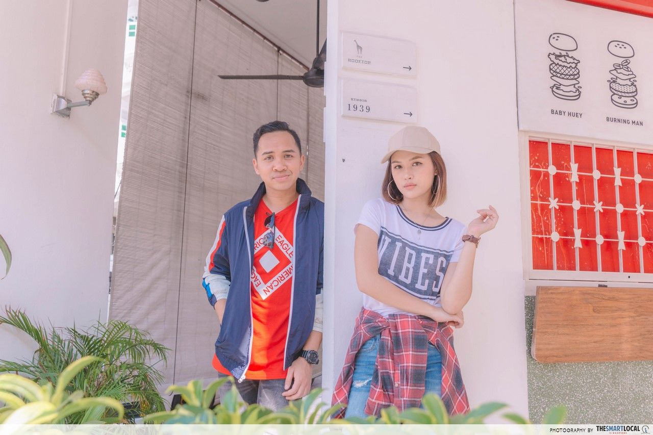 TSL X AEO close-up of Potato Head Building Interior.