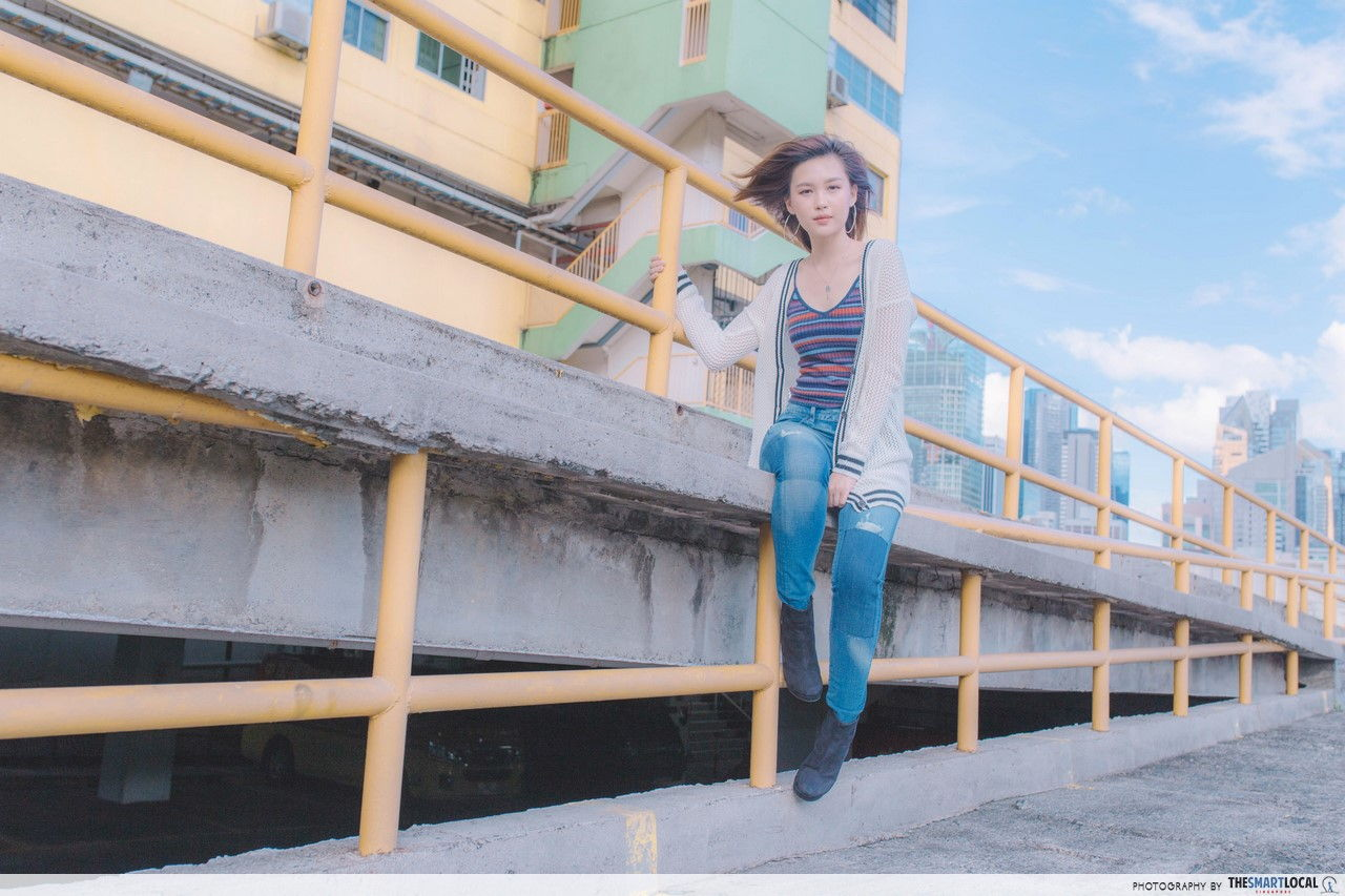 TSL X AEO People's Park Complex Women's Look