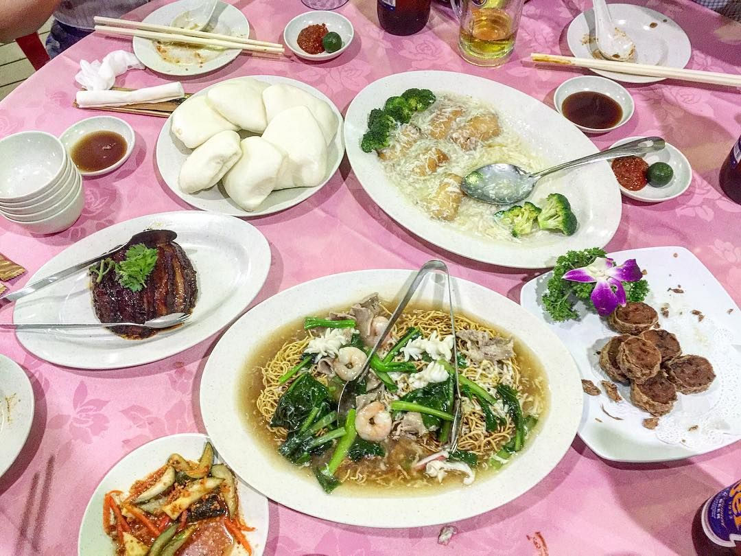 Teochew cuisine from Fragrant Garden, Upper Serangoon Shopping Centre.