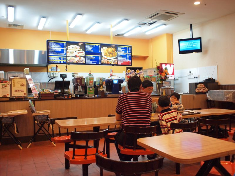Relive the old days amidst the A&W charm of Waffletown at Balmoral Plaza.