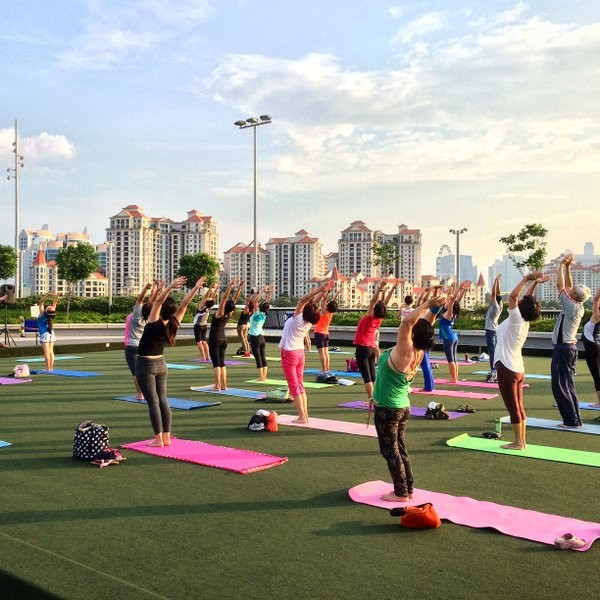 Attend free fitness classes all around Singapore