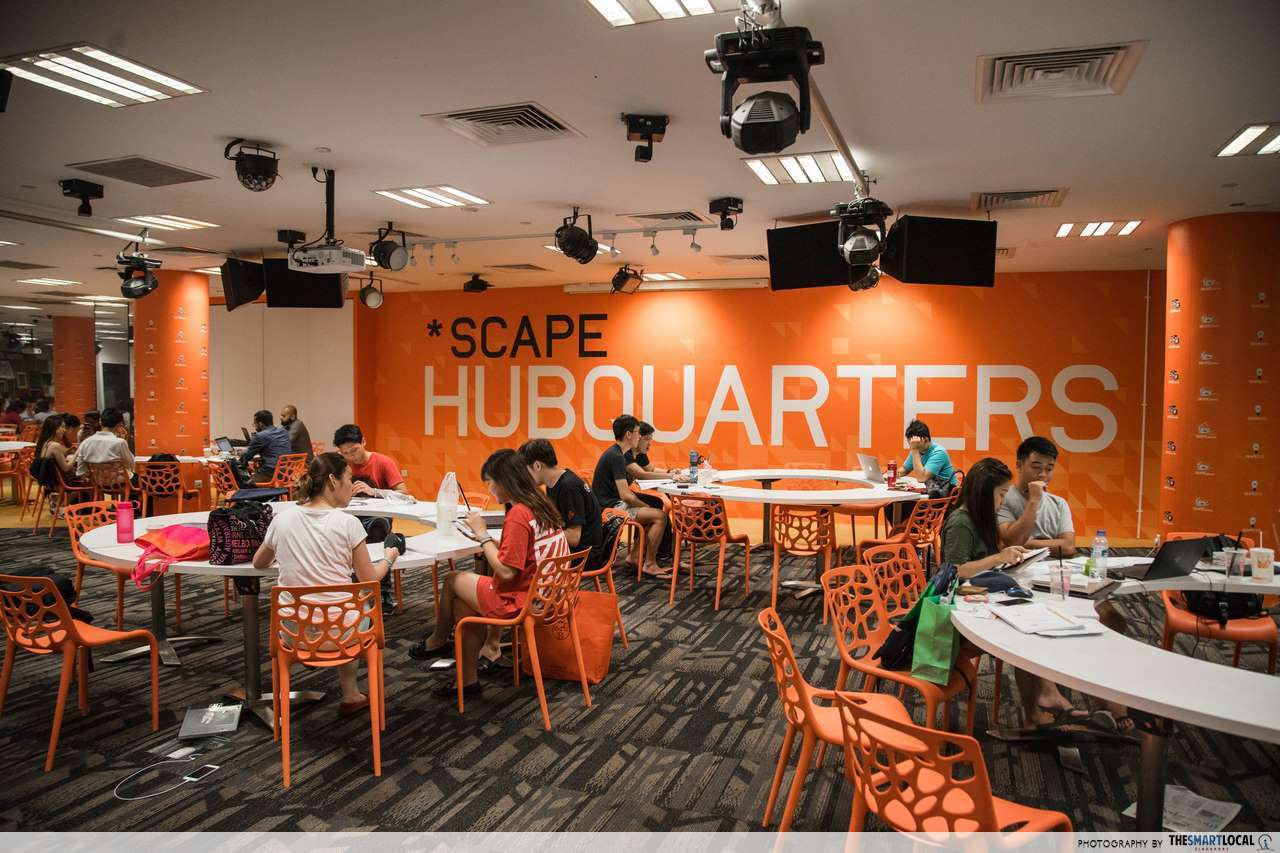 Study Area at *SCAPE HubQuarters