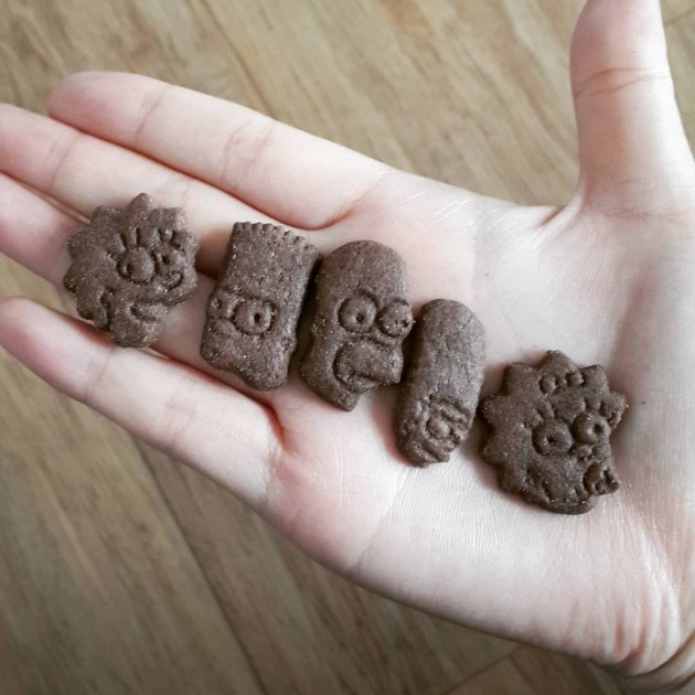 Arluy Minis Simpsons Biscuits