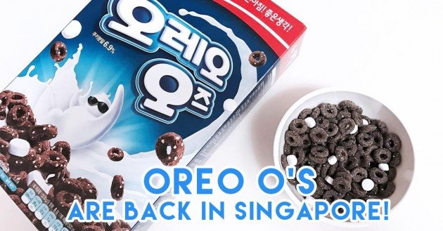 Oreo O's are back in Sinagpore