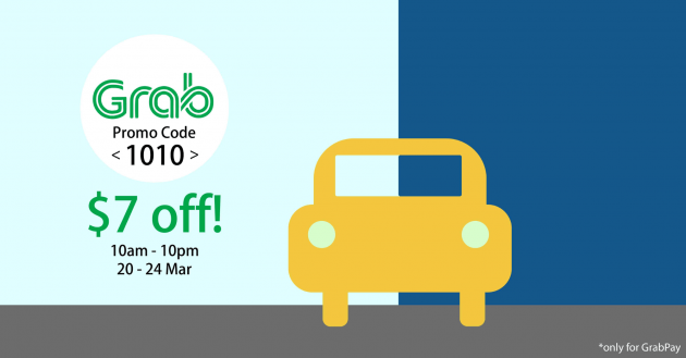 GrabTaxi's 10/10 Promotion Gets You $7 Off Taxi Rides This Week