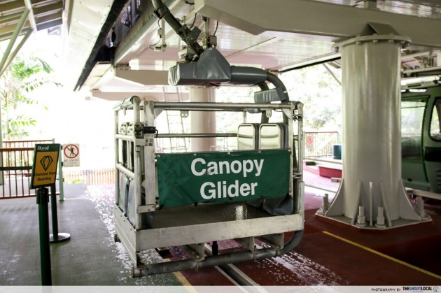 canopy glider cairns rainforest skyrail cableway