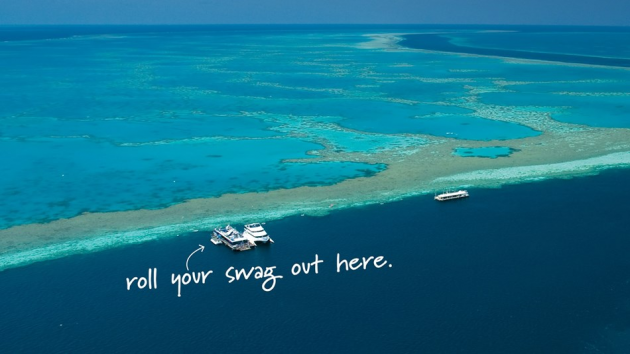 great barrier reef sleepover afloat accomodation