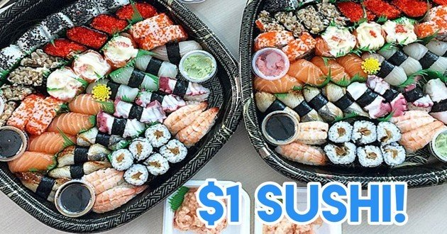 Umi Sushi $1 Umiday promotion