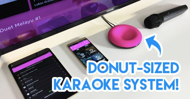 Singaporean Kickstarter portable Karaoke system Popsical