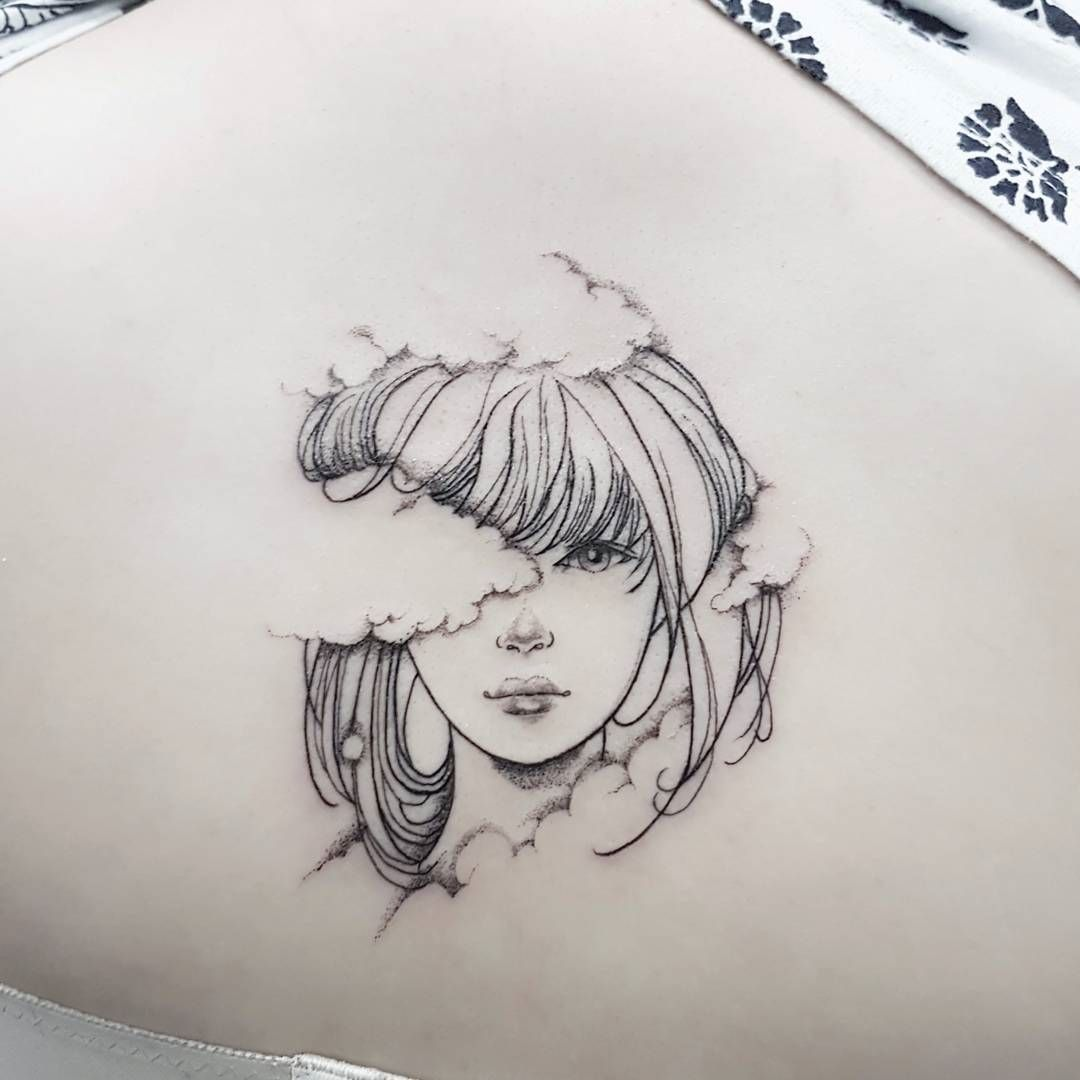 Black Flower Watercolor Art By Tae Lee: 10 Singapore-Based Tattoo Artists That Will Get You Ink