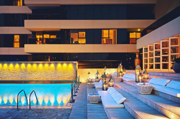 Grosvenor House Rooftop Pool