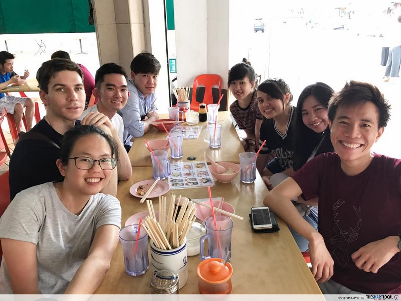 Image result for singapore hawker centre friends