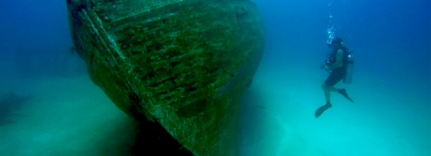 phuket underwater wreck diving king cruiser ferry ghost ship thailand