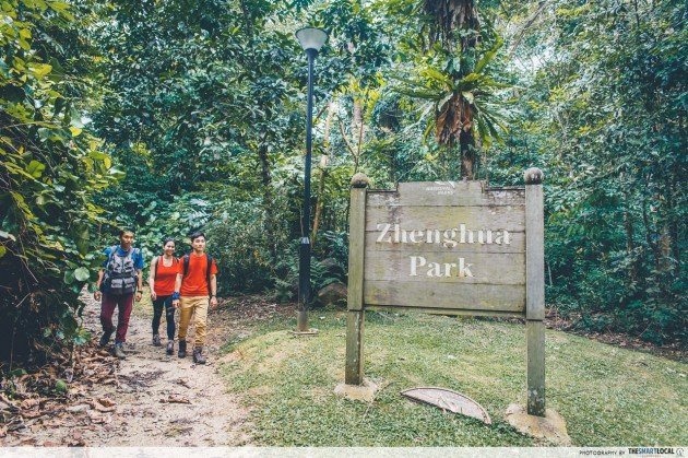 zhenghua nature park bukit panjang heartlands hiking