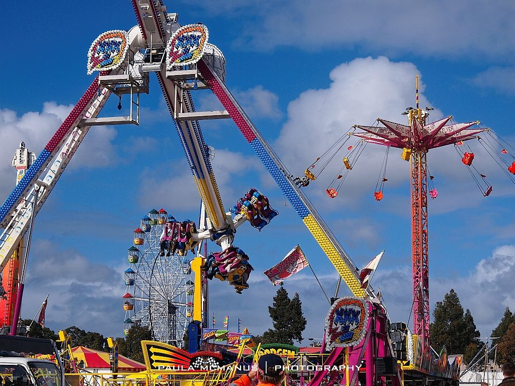 Epic rides at the Royal Adelaide Show.