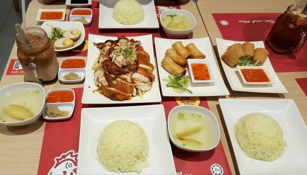 1-for-1 Chicken Rice