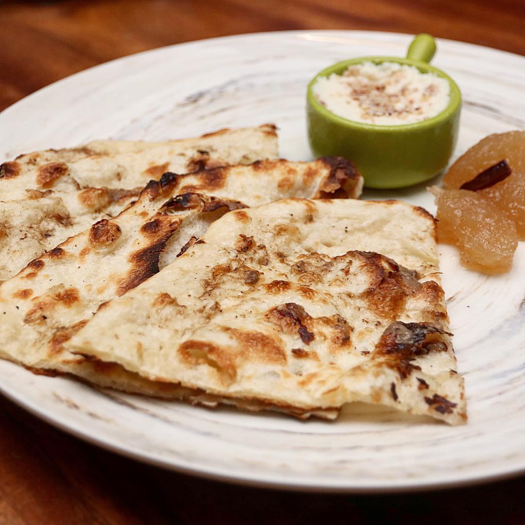 Truffle Naan At Flying Monkey With Cuisine Cosy Fly