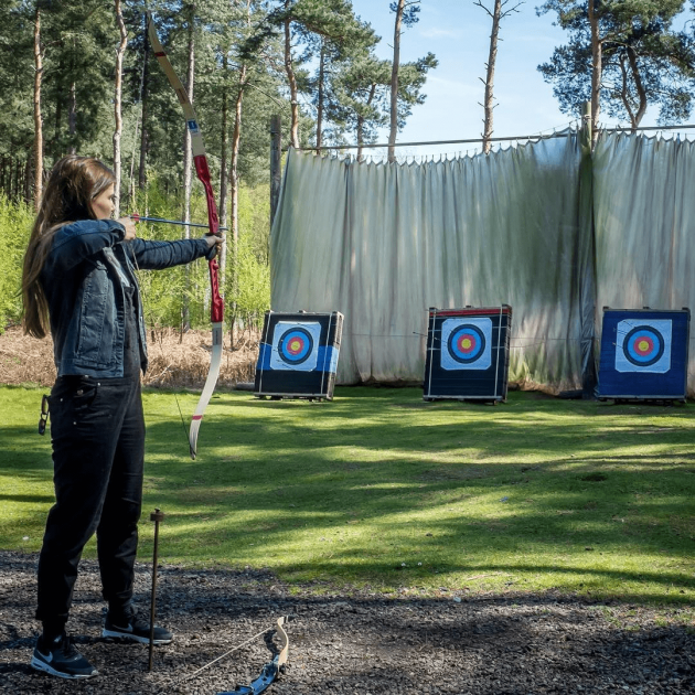 Archery, Adrenalin Jungle, Nottingham