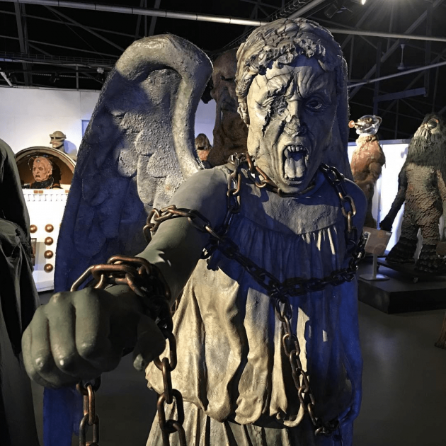 Doctor Who Experience, Weeping Angel, Cardiff
