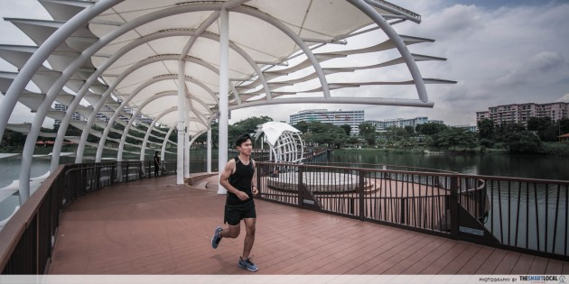 lower seletar reservoir park running trails waterside royal sporting house