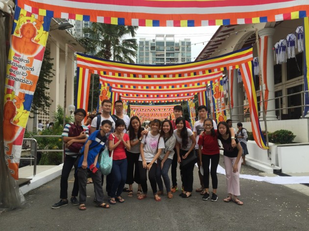 fellowship of dhamma buddhist youth network vesak day temple hopping