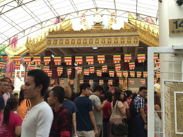 temple hopping vesak day fellowship of dhamma buddhist youth network