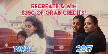 Recreate An Old Photograph With Your Mom & Win $350 Worth Of Grab Credits