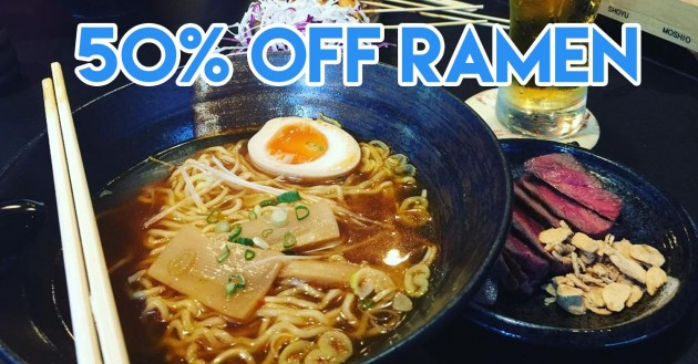 14 Food Deals At Japanese, Korean and Thai Restaurants For Your Next Group Outing