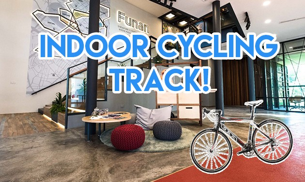 indoor cycling track