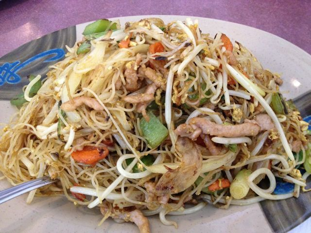 Singapore Noodles are not a thing