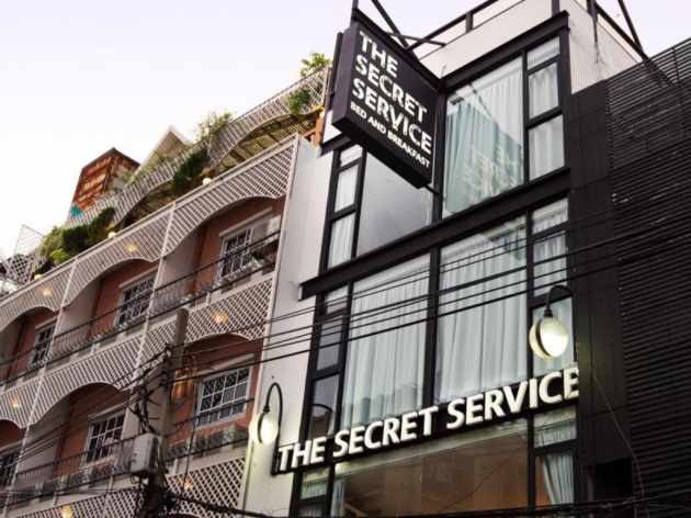 the secret service themed agent hotel boutique bangkok