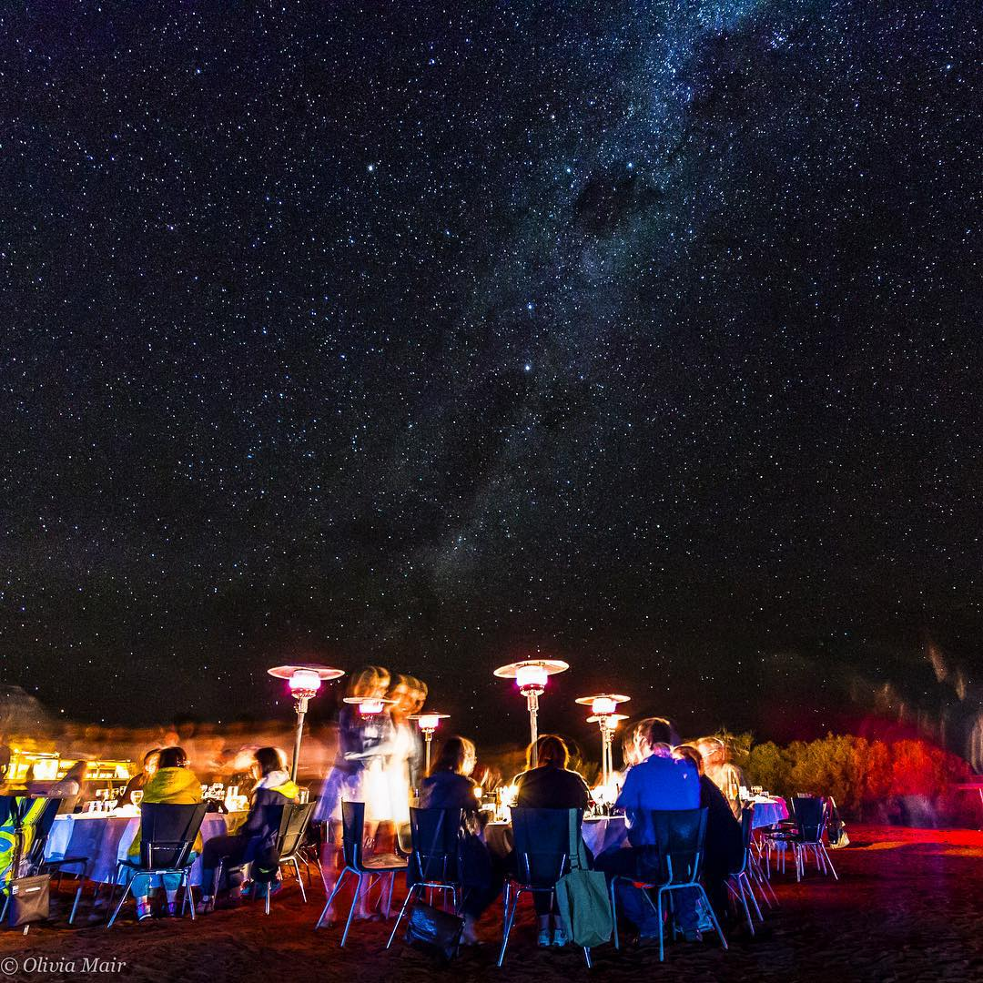 dine under the stars at the Sounds Of Silence