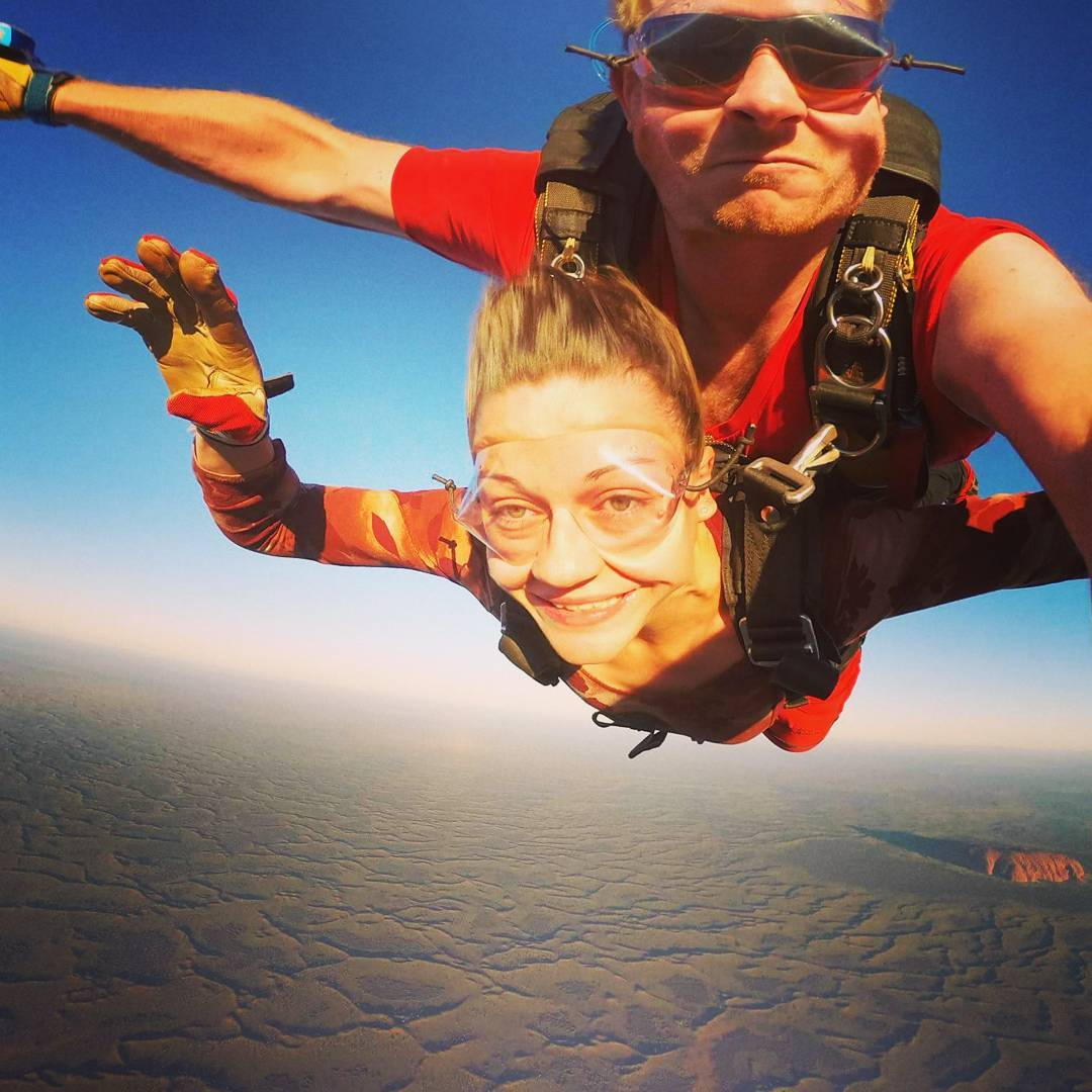 skydive in tandem with a trusty instructor