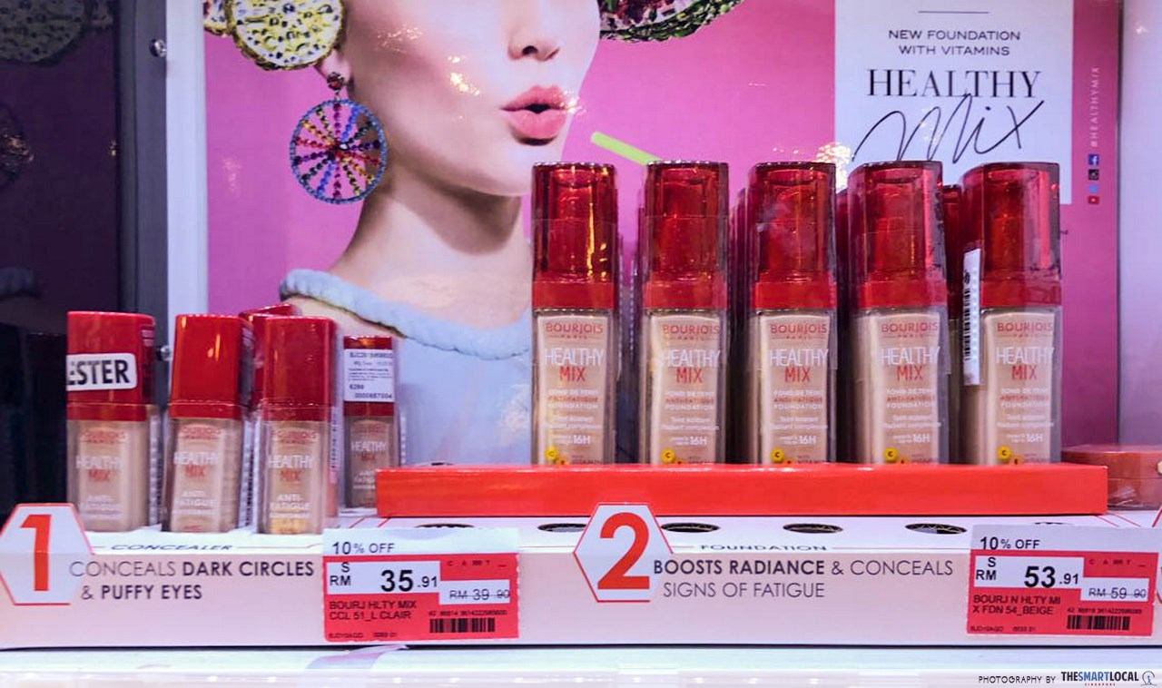 bourjois foundation cheap