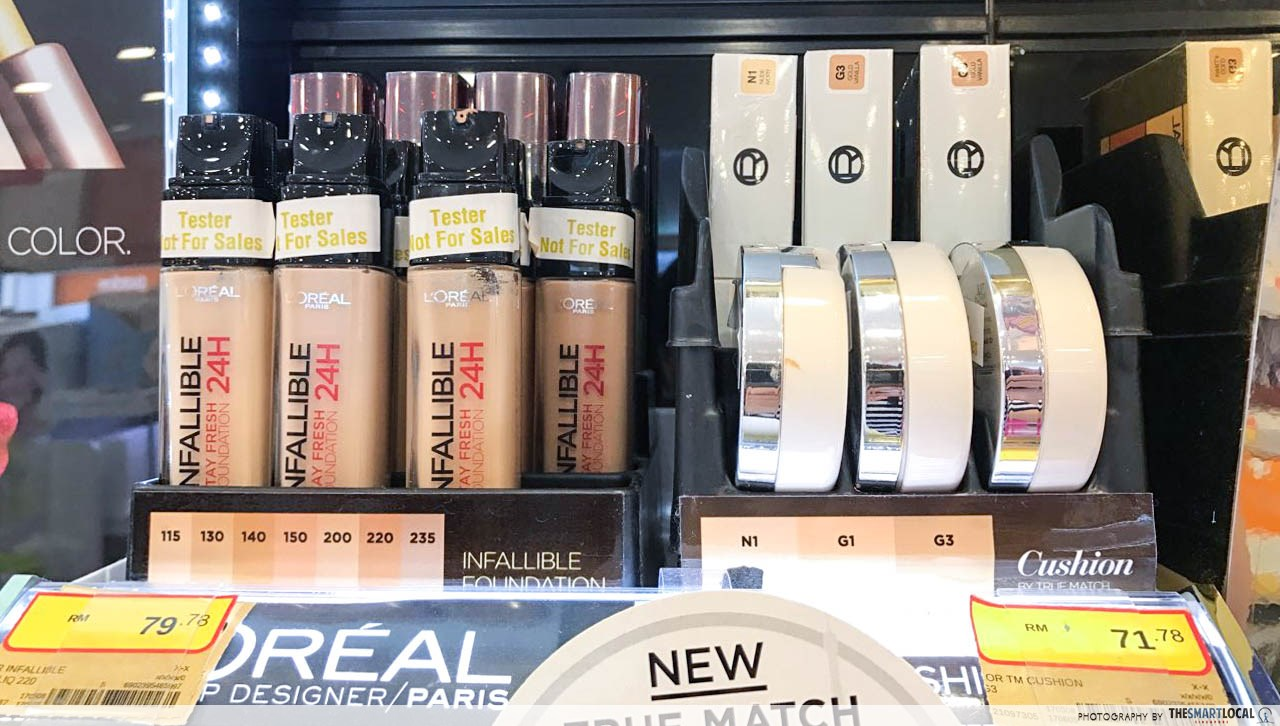 21% off L'oreal Infallible 24H liquid foundation